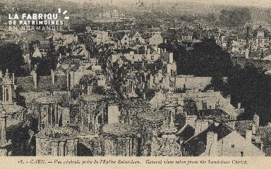 cl 01 040 Caen- vue générale prise de l'église de St- Jean