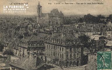 cl 01 044 Caen- vue sur le vieux St-Nicolas