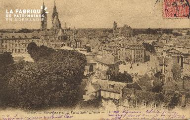 cl 01 046 Caen vue générale du vieux St-Etienne