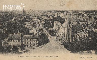 cl 01 047 Caen- vue générale prise de l'Abbaye aux Dames