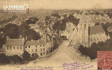 cl 01 048 Caen- vue générale prise de l'Abbaye aux Dames