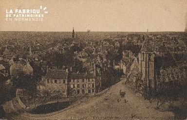 cl 01 050 Caen- vue générale prise de l'Abbaye aux Dames