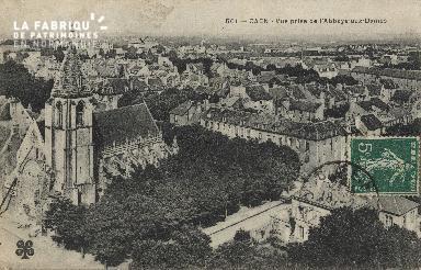 cl 01 052 Caen- vue prise de l'Abbaye aux Dames