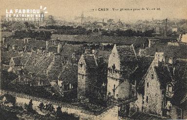 cl 01 054 Caen vue générale prise de vaucelles
