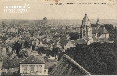 cl 01 062 Caen-vue sur le vieux St-Etienne