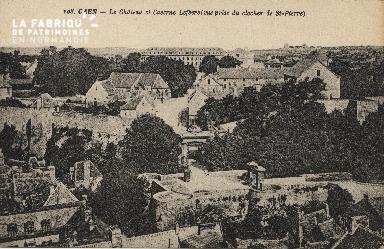 cl 01 081 Caen- le château et la caserne lefévre