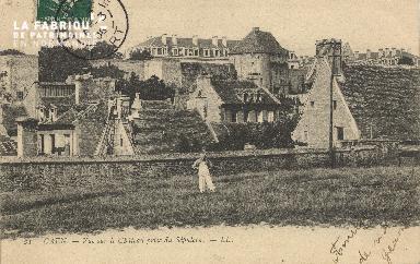 cl 01 082 Caen vue sur le château et du sélpucre