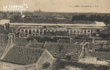cl 01 087 Caen- vue générale, la gare