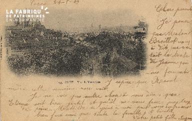 cl 01 088 Caen- vue de Vaucelles