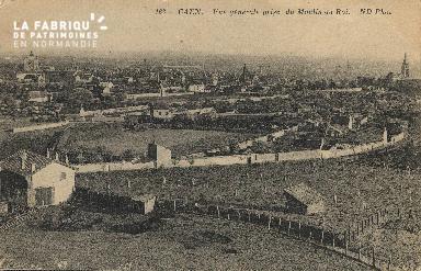 cl 01 089 Caen vue générale prise du moulin-au-roi