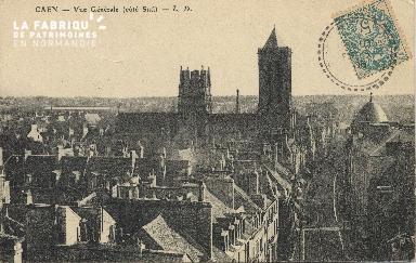 cl 01 091 Caen vue générale (côté sud)