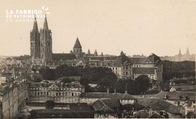 cl 01 094 Caen- ensemble sur l'anncienne abbaye aux hommes