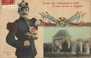 cl 01 104 Caen 36ème régiment