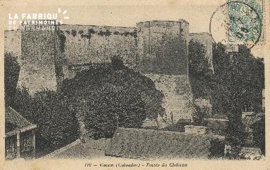 cl 01 109 Caen-fossé du château