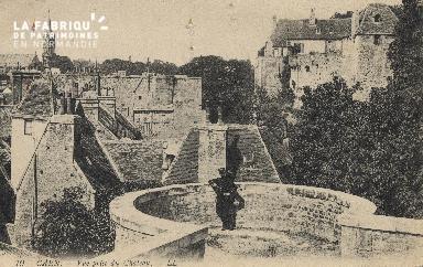 cl 01 110 Caen vue prise du Château