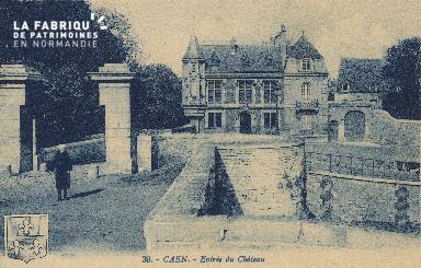 cl 01 112 Caen - entrée du Château