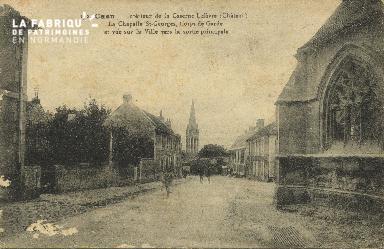 cl 01 131 Caen interieur de la caserne lefèvre, la chapelle St georges