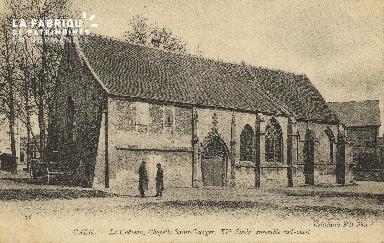 cl 01 132 Caen le châteu, chapelle St georges, XV siècle, ensemble sud