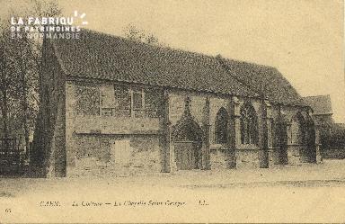 cl 01 133 Caen le château, la chapele St georges