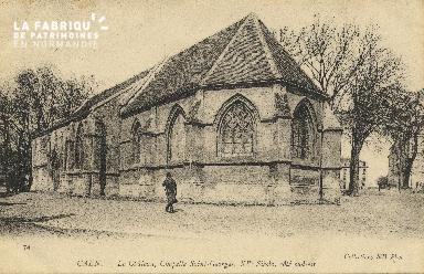 cl 01 134 Caen le châteu, chapelle St georges, XV siècle
