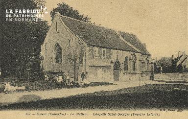 cl 01 135 Caen le châteu, chapelle St georges