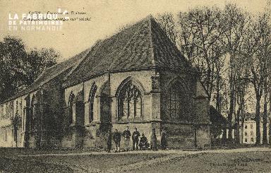cl 01 136 Caen le châteu, chapelle St georges, XV siècle