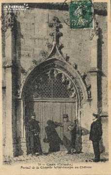 cl 01 144 Caen portrait de la chapelle St-georges au château