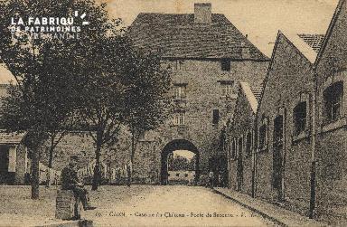 cl 01 148 Caencaserne du chateau-porte de secours
