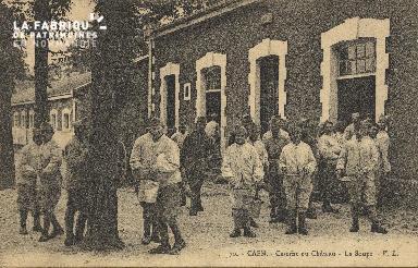 cl 01 149 Caen caserne du chateau- la soupe