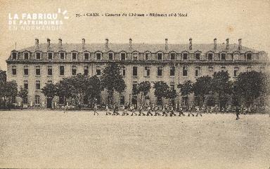 cl 01 151 Caen-caserne du château- batiment côté nord