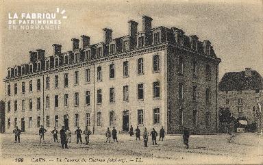 cl 01 160 Caen- la caserne du château