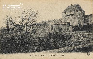 cl 01 164 Caen- le château porte de secours