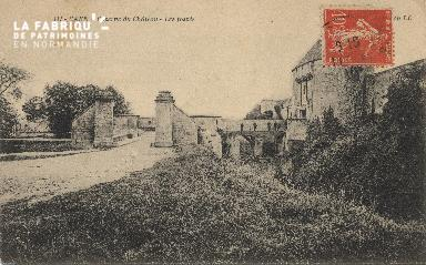 cl 01 165 Caen caserne du château- les fossés