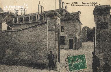 La caserne de Remonte de Caen et du 129e d'Infanterie