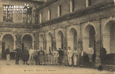 La quartier de la caserner de Remonte de Caen