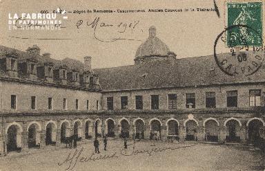 cl 01 174 Caen- dépot de remonte- Casernement, ancien couvent de la vi