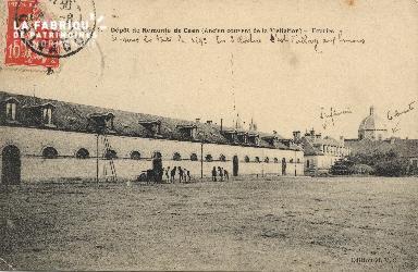Les écuries de la caserne de Remonte de Caen