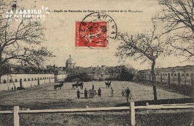 La piste de la caserne de Remonte de Caen