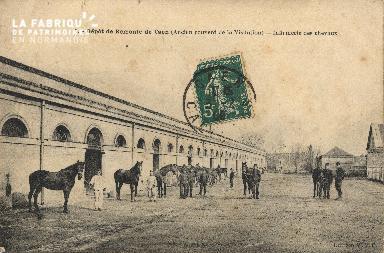 L'infirmerie des chevaux de la caserne de Remonte de Caen