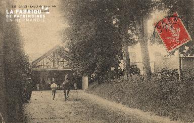 Le trottoir d'achat de la caserne de Remonte de Caen