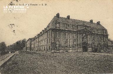 cl 01 186 Caen- la caserne Hamelin