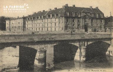 cl 01 187 Caen- la caserne Hamelin