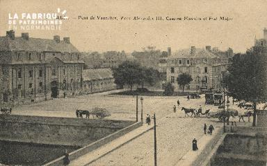 cl 01 194 Caen- pont de Vaucelles, place Alexandre III,Caserne Hamelin