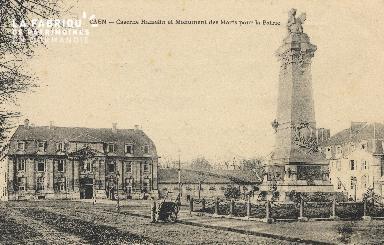 cl 01 199 Caen- caserne Hamelin et monument des morts pour la patrie