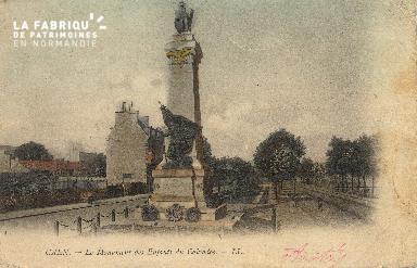 cl 01 201 Caen- le monument des enfants du calvados