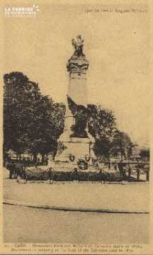 cl 01 202 Caen- monument élevé à la mémoire des enfants du calvados