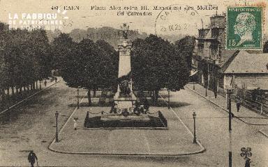 cl 01 205 Caen- Place Alexandre III Monument des mobiles du calvados