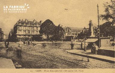 cl 01 211 Caen - place Alexandre III