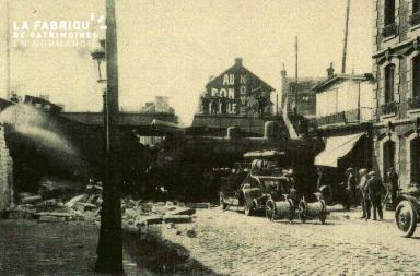 cl 02 010 Vue de la Gare de Caen - le 29.08.1929