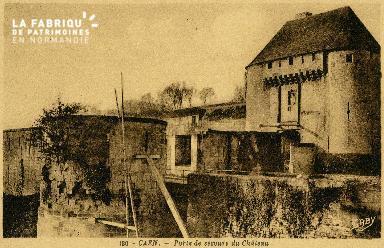 cl 02 037 Caen-Porte de secours du Château